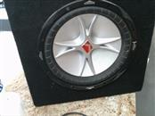 "KICKER Speakers CRV 12"" WOOFER"